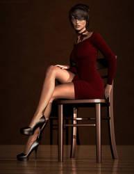[DAZ] Chair - Robin 01