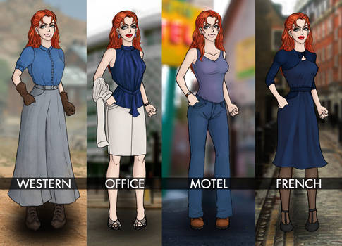 Alyssa - Costumes