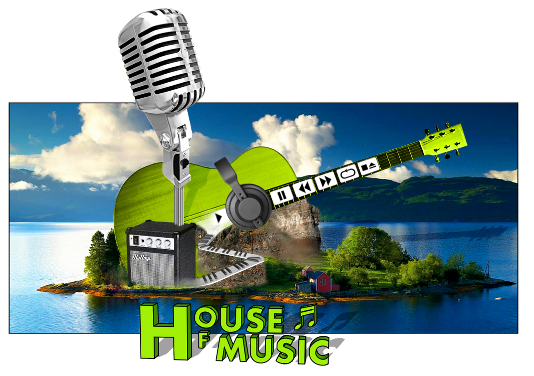 House of music pop out by skp33 on deviantart for House music pop