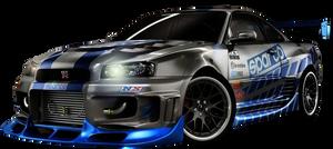 FAST AND FURIOUS - Nissan Skyline