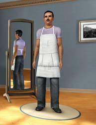 Bob Belcher in Sims 3 by Mikeyfan93
