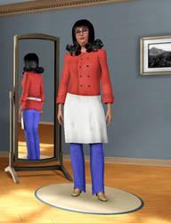 Linda Belcher in Sims 3