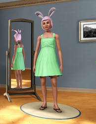 Louise Belcher in Sims 3