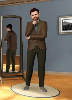 Kyle Kalgren in Sims 3