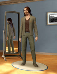 Nash Bozard in Sims 3 by Mikeyfan93