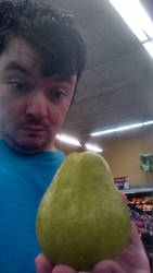 April Fools Day in the Wal-Mart with Pear by Mikeyfan93