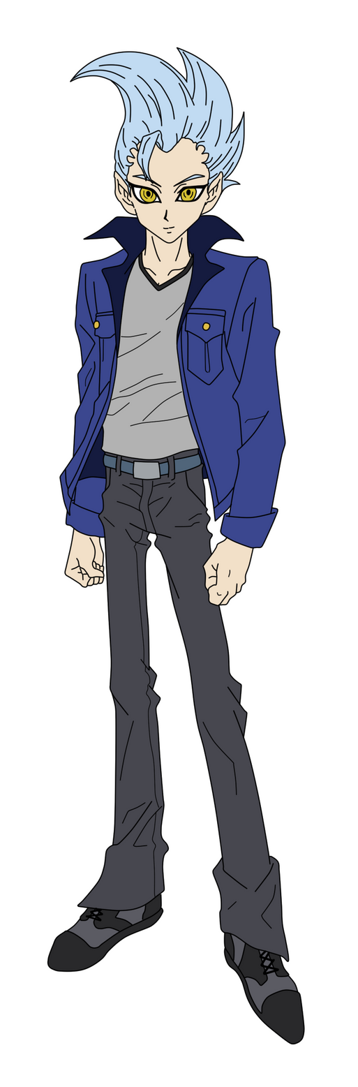 Astral human form by YuGiOhZEXAL