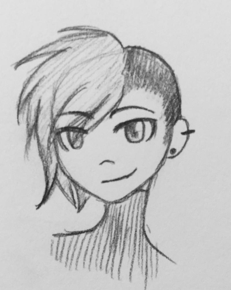 Hue head drawing  by Echolight19