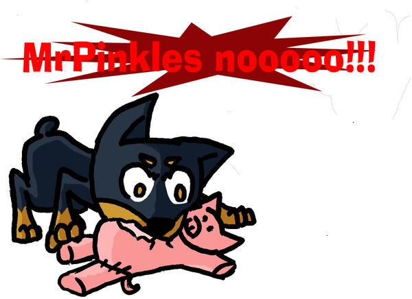 Nooooo: Mr. Pinkles Nooooo By Kaydolf On DeviantART