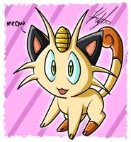 Meowth by RazinOats