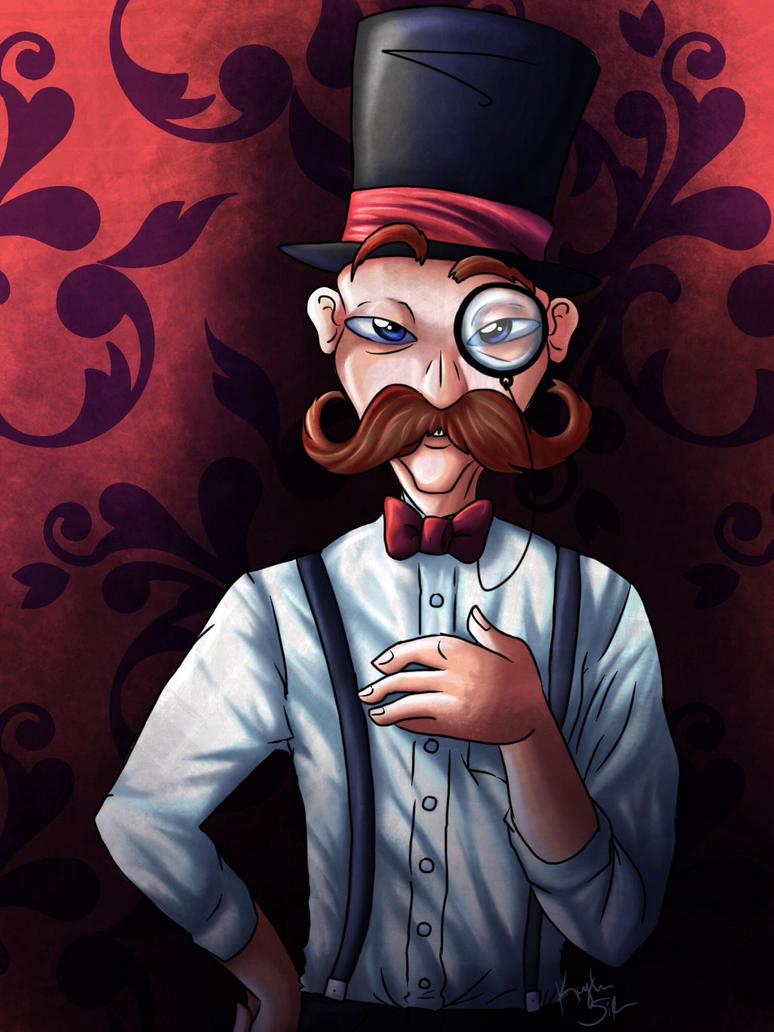 If You've Only Got a Mustache by Kaydolf