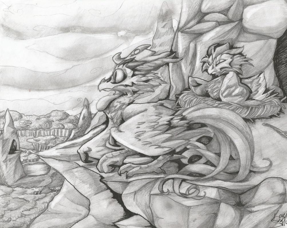 Dragon Roost by Kaydolf