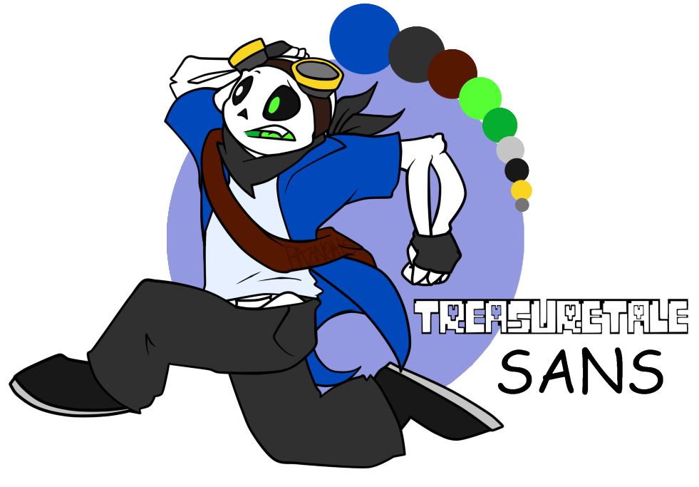 Treasuretale Sans by Kaydolf