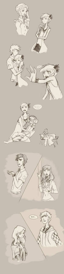 Virtue's Last Reward - Sketch dump