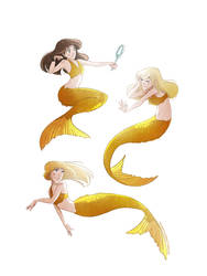 Mako Mermaids by TwilightSaphir