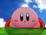 Kirby Windows Bliss Wallpaper