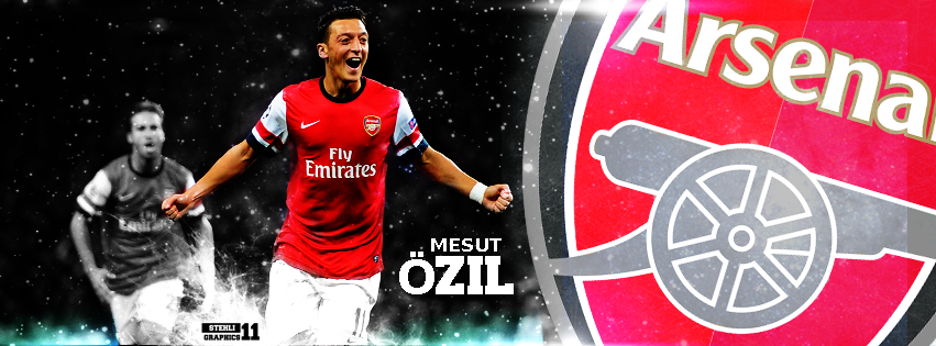 Mesut Ozil- FACEBOOK TIMELINE COVER By STEHLI11GRAPHICS On