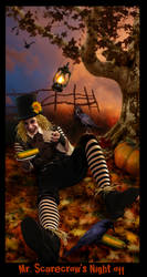 Mr. Scarecrow's Night Off by wycked