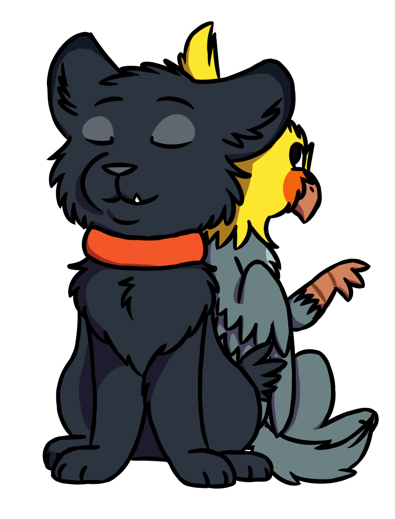 Grendel and Rivers by FruitPie-Stripes