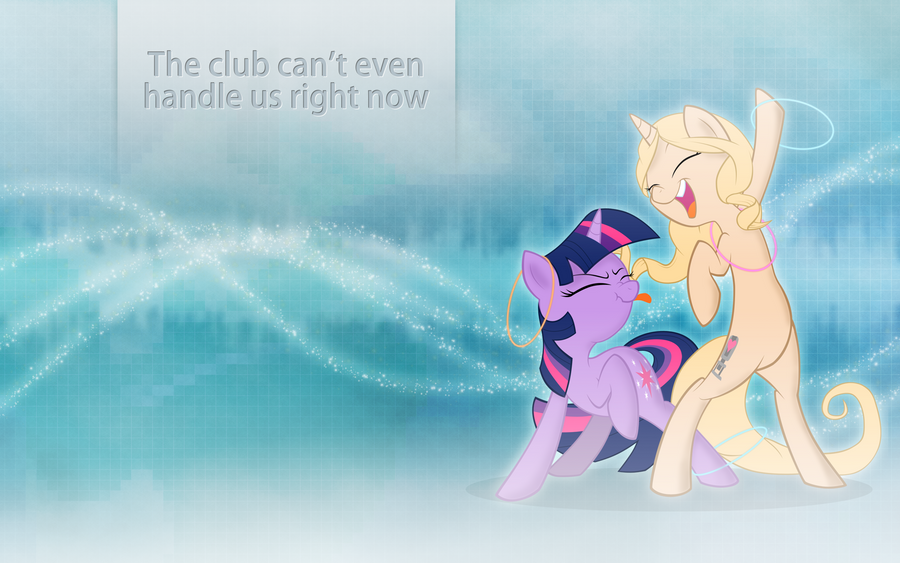 The Club Can't Even Handle Us Right Now by Barnacle84
