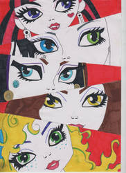 Monster High by angel-emmzy