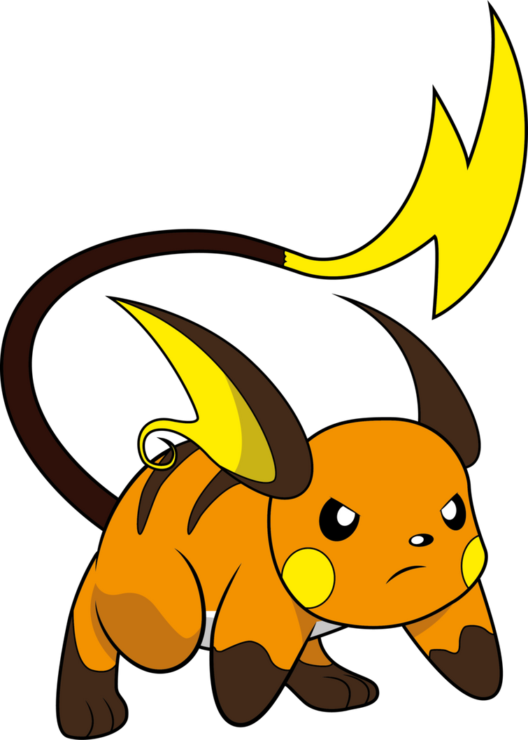Raichu by swelling1 on DeviantArt