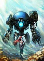 -Robobo01 and Girl-