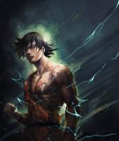 -Goku- by R-SRaven