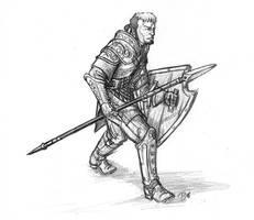 Spear Fighter by Tensen01