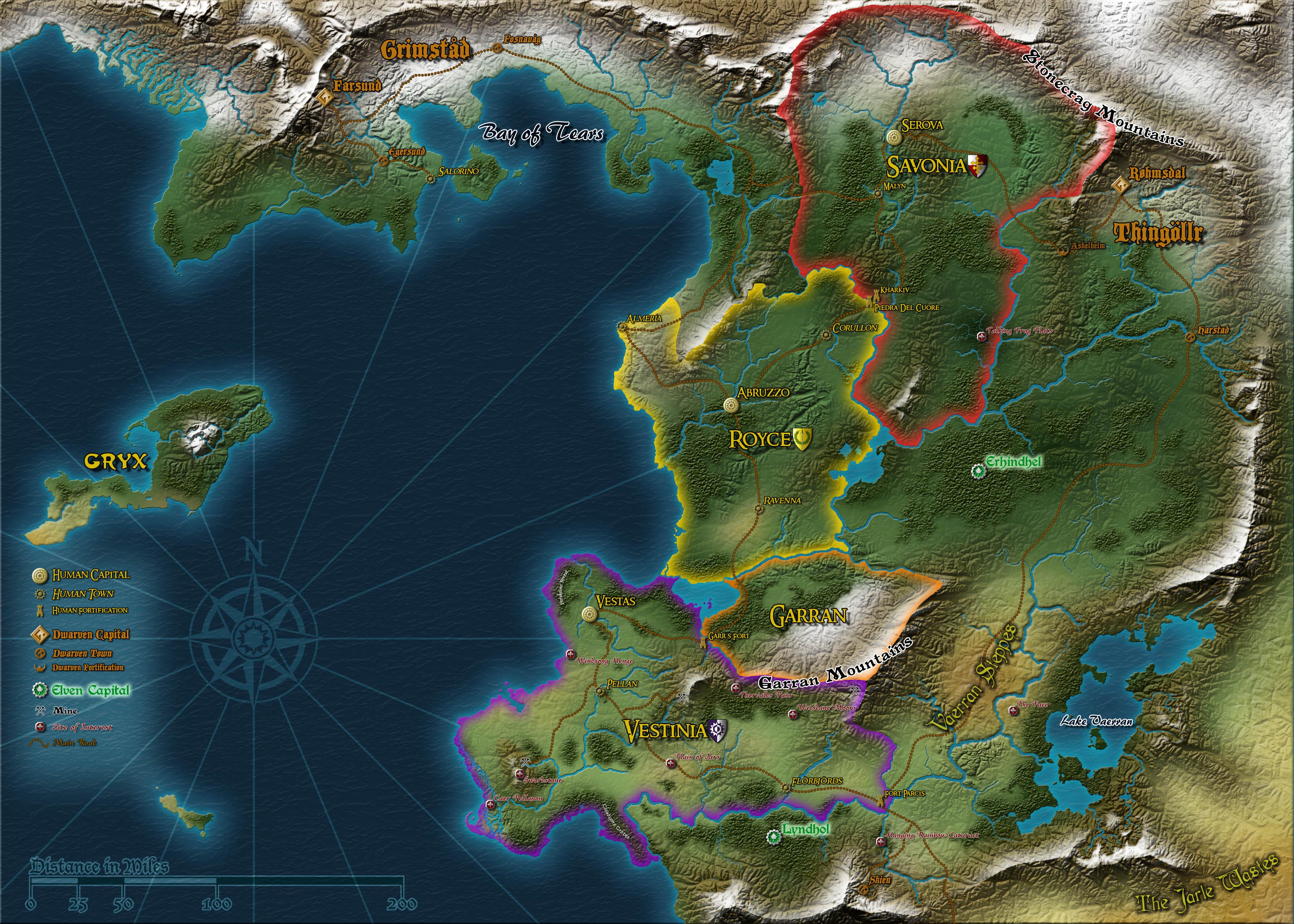 Fantasy world map Fantasy world and World maps on Pinterest