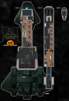 Zephyr Class Deck Plans