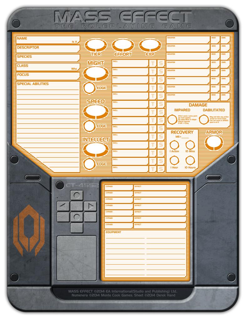 Mass Effect Cypher Sheet by Tensen01