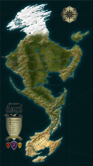 WiP DnD Campaign World UPDATED