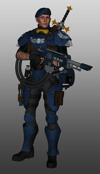 Lucasta Jaxx - Imperial Guard