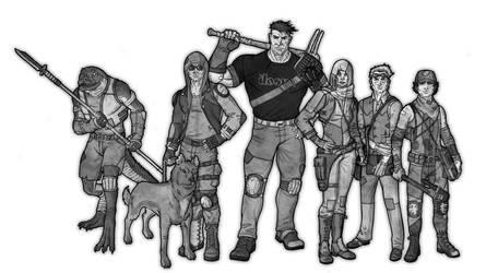 Mutant: Year Zero party