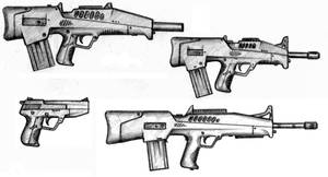 T.U.C. Gun line