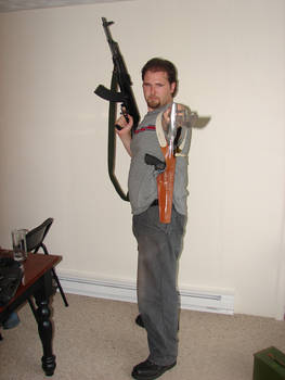 Dale with guns stock 17
