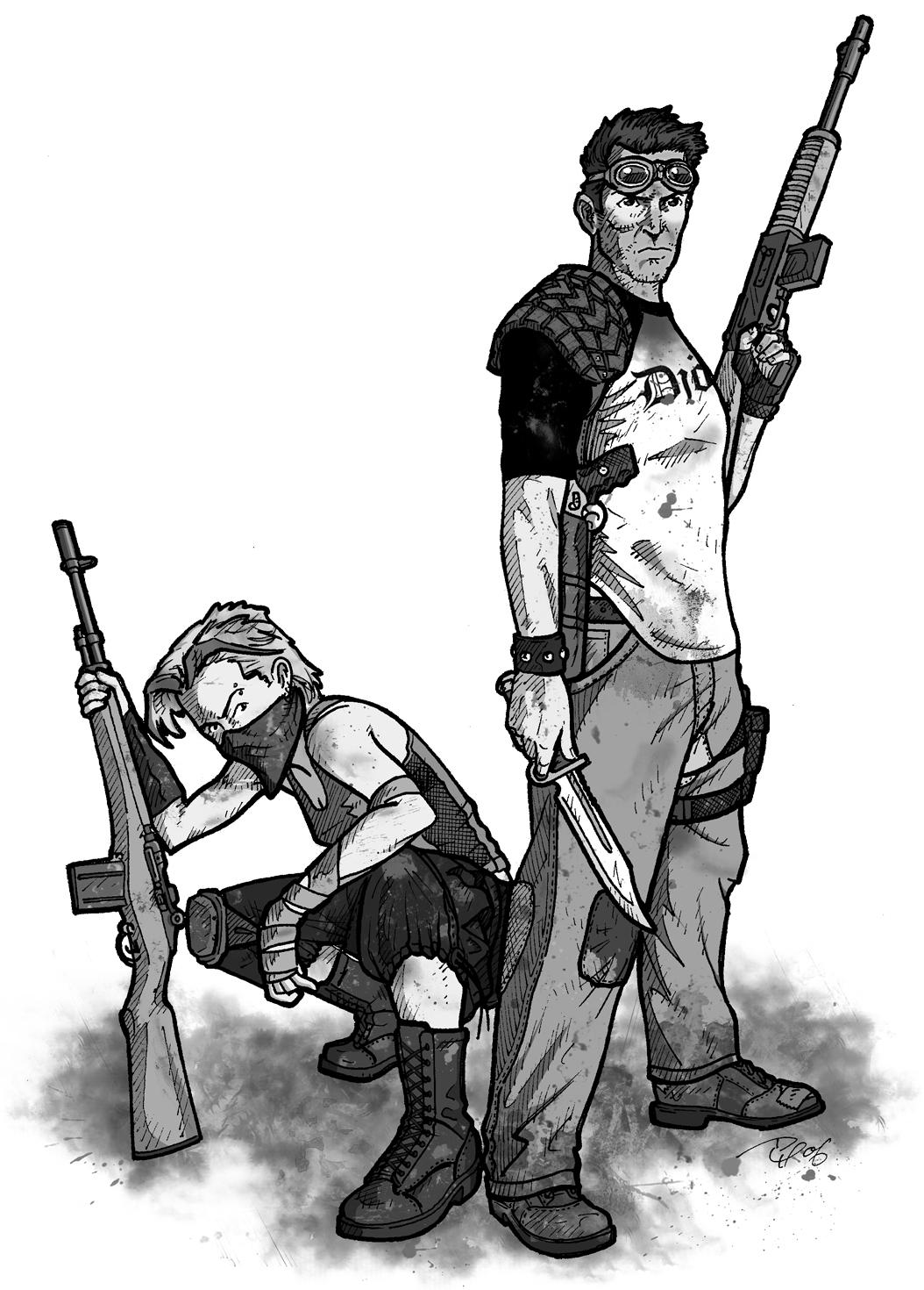 Fallout d20 - City Dwellers by Tensen01