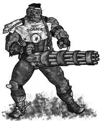 Fallout d20 - Super Mutant by Tensen01