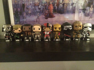 My Funko Pop Star Wars Collection (OLD)