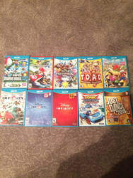 My Wii U Game Collection