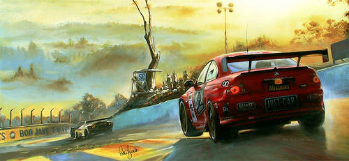 Monaro Sunrise by donpackwood