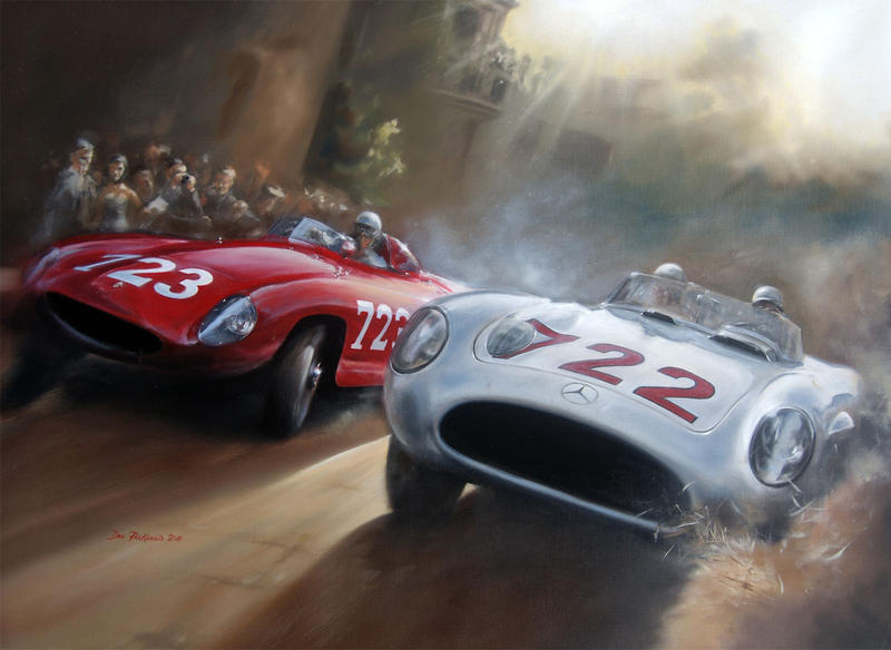 Stirling Moss by donpackwood