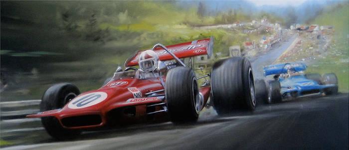 Spa-Francorchamps 1970 F1 GP