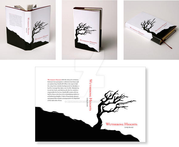 Wuthering Heights Book Cover by RisingsunDesigns