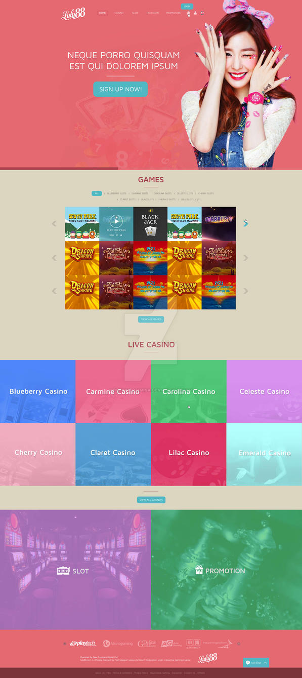 Homepage-Sample-Design by designer21misa