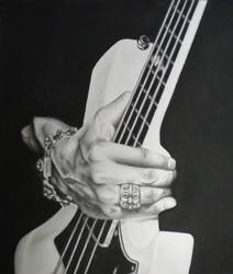 The Digits of a Bass Player by ShiDebbi-2010