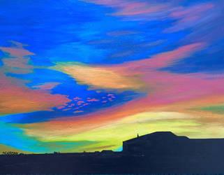 Rio Rancho Sunset by ShiDebbi-2010