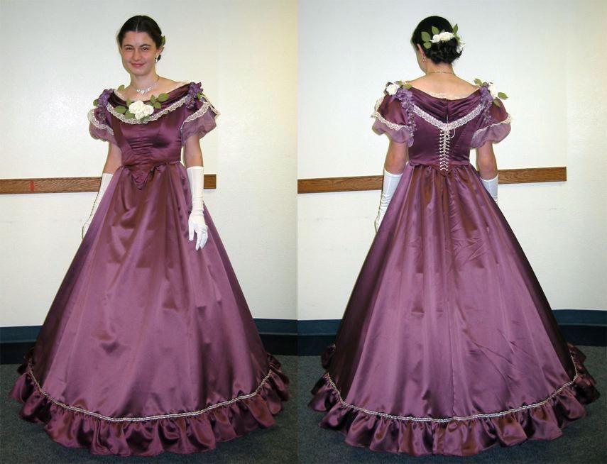 Civil War Ball Gown by Naboo-Girl on DeviantArt