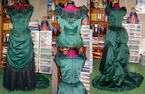 Bustle Gown by Naboo-Girl
